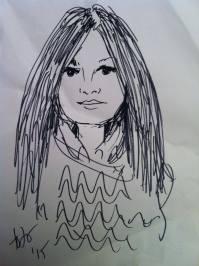 ...è che mi disegnano così (opera di Totò Calì)