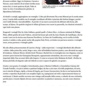 Questo è un articolo pubblicato su La Stampa dall'amica Roselina Salemi. Leggetelo fino all'ultima parola: parla pure del mio matrimonio!