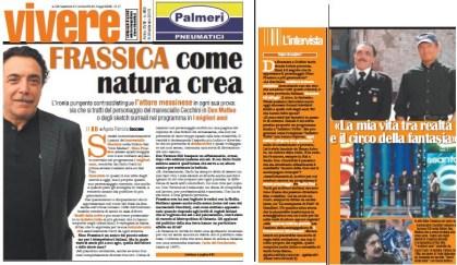 """Intervista a Nino Frassica di Agata Patrizia Saccone su """"Vivere La Sicilia"""""""