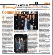 """Intervista Antonio Gallo su """"Vivere La Sicilia"""""""