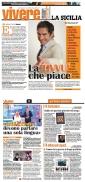 """Intervista a Marco Liorni di Agata Patrizia Saccone, pubblicato su """"Vivere-La Sicilia"""""""