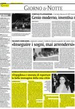 """intervista pubblicata dal quotidiano """"La Sicilia"""""""