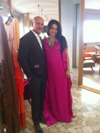 Con e in abito Maurizio Pecoraro