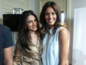 con Sara Cavazza Facchini