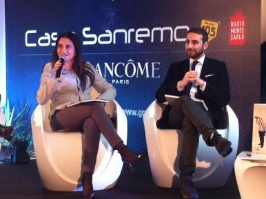 A Casa Sanremo per presentare un evento